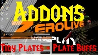 World of Warcraft : Addons - Utilizando Tidy Plates + Plate Buffs - MoP.