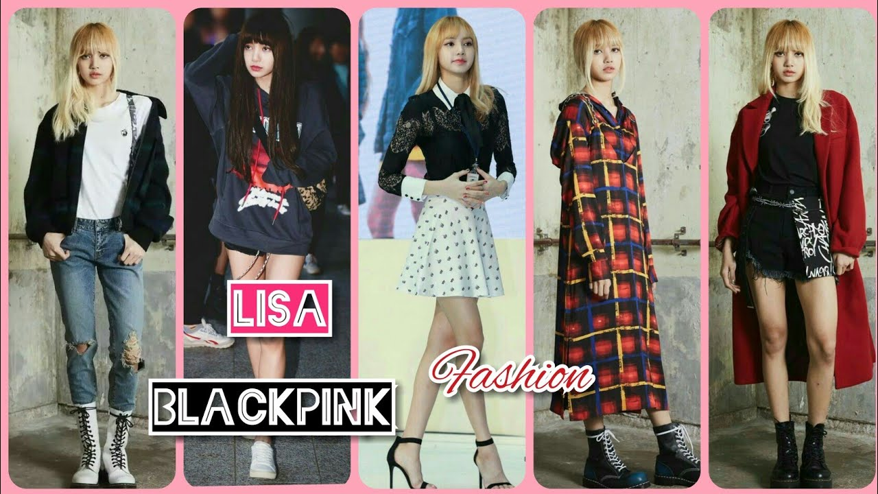 Lisa Blackpink Swag And Unique Fashion Style Youtube