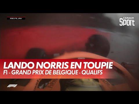 Download Plus de peur que de mal pour Lando Norris après ce crash - GP de Belgique