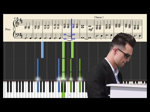 Panic! At The Disco: This Is Gospel (Piano Version) - Tutorial + SHEETS