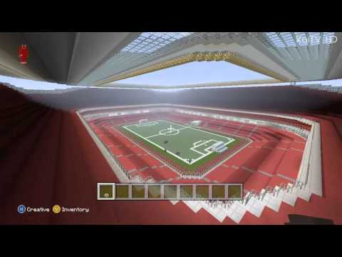 Minecraft - Emirates Stadium Tour (Xbox 360)