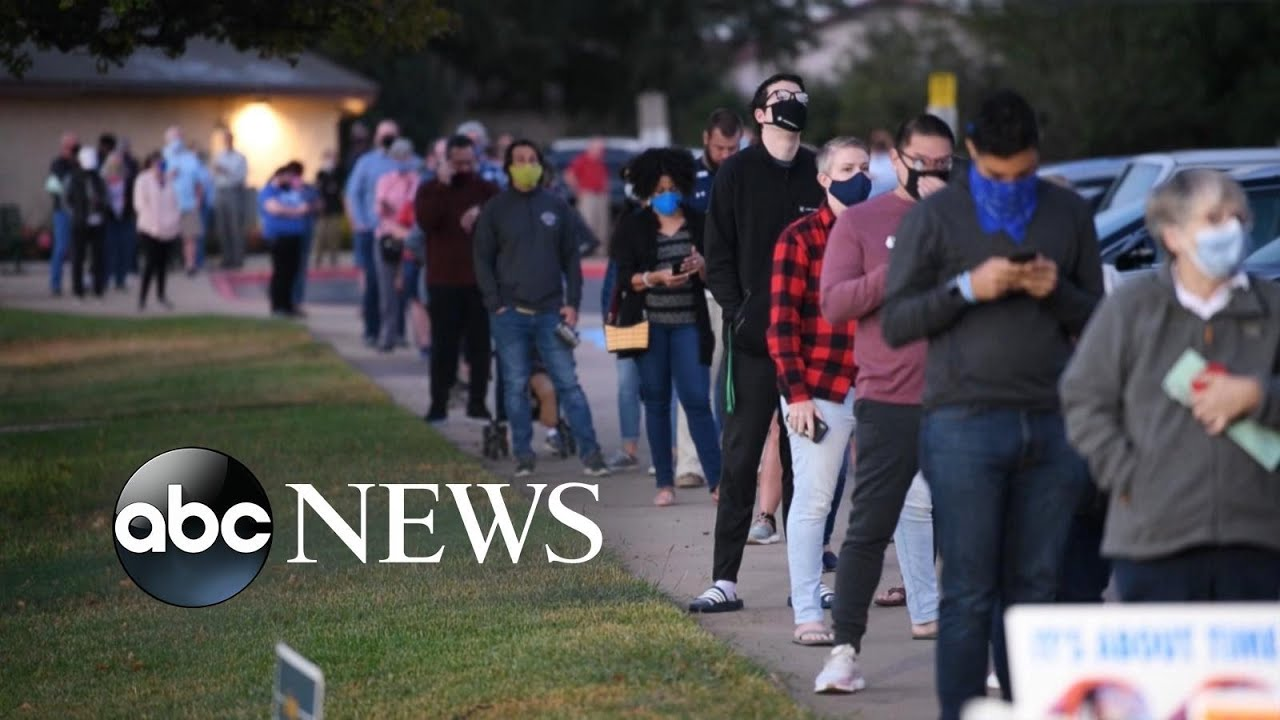 Early voting wave continues, 75 million have cast ballots