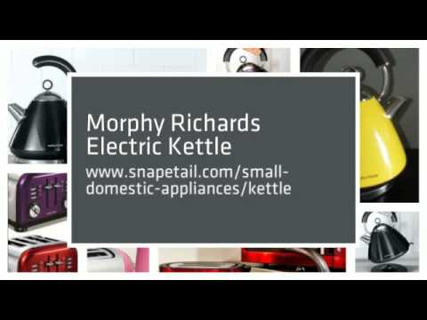 Morphy Richards Kettle and Toaster Set | Morphy Richards Kettle