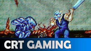 SPLATTERHOUSE 3 PLAYING ON A REAL CRT