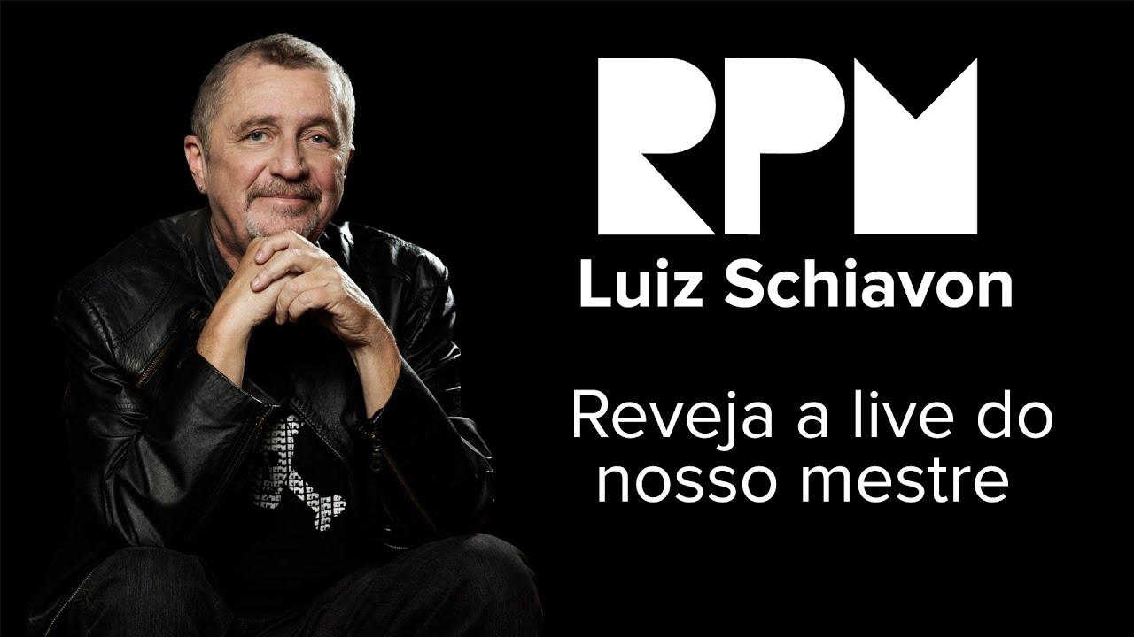 Live com Luiz Schiavon