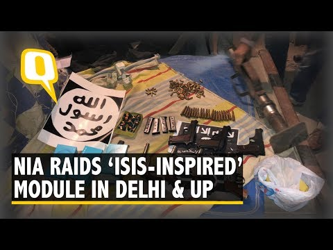 NIA Arrests 10 Suspects of ISIS-Inspired Module Across UP & Delhi | The Quint