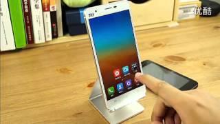 xiaomi mi 4 mobile phone 小米4真机上手视频曝光 标清