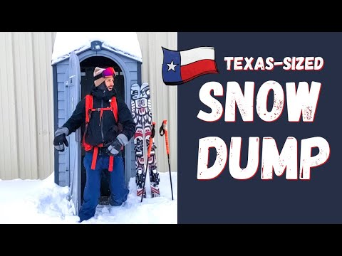 CAN YOU SKI IN TEXAS?!? Colorado Couple Searches for Ski Turns After MAJOR WINTER SNOWSTORM URI