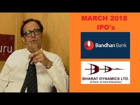 IPO's   Bandhan Bank & Bharat Dynamics LTD   Coffee With Share Guru
