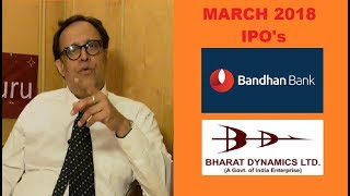 IPO's | Bandhan Bank & Bharat Dynamics LTD | Coffee With Share Guru