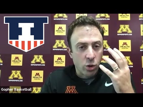 Richard Pitino previews Illinois 2020