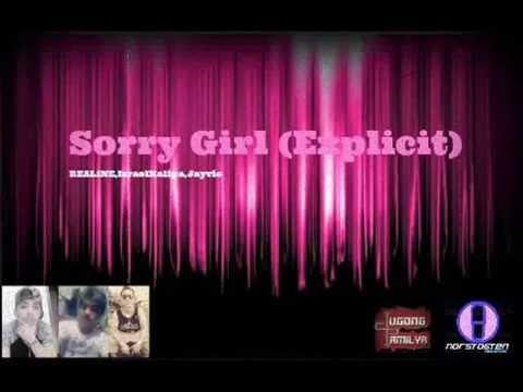 REAL1NE - Sorry Girl (Original Audio) Israel Kalipa,Jayvie #DpMuzick