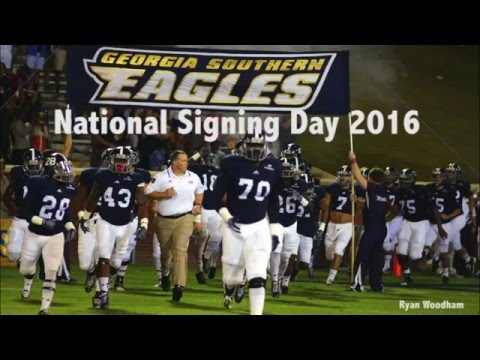 Georgia Southern National Signing Day 2016