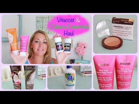 Vitacost/Zabana Essentials Haul~ COUPON CODE