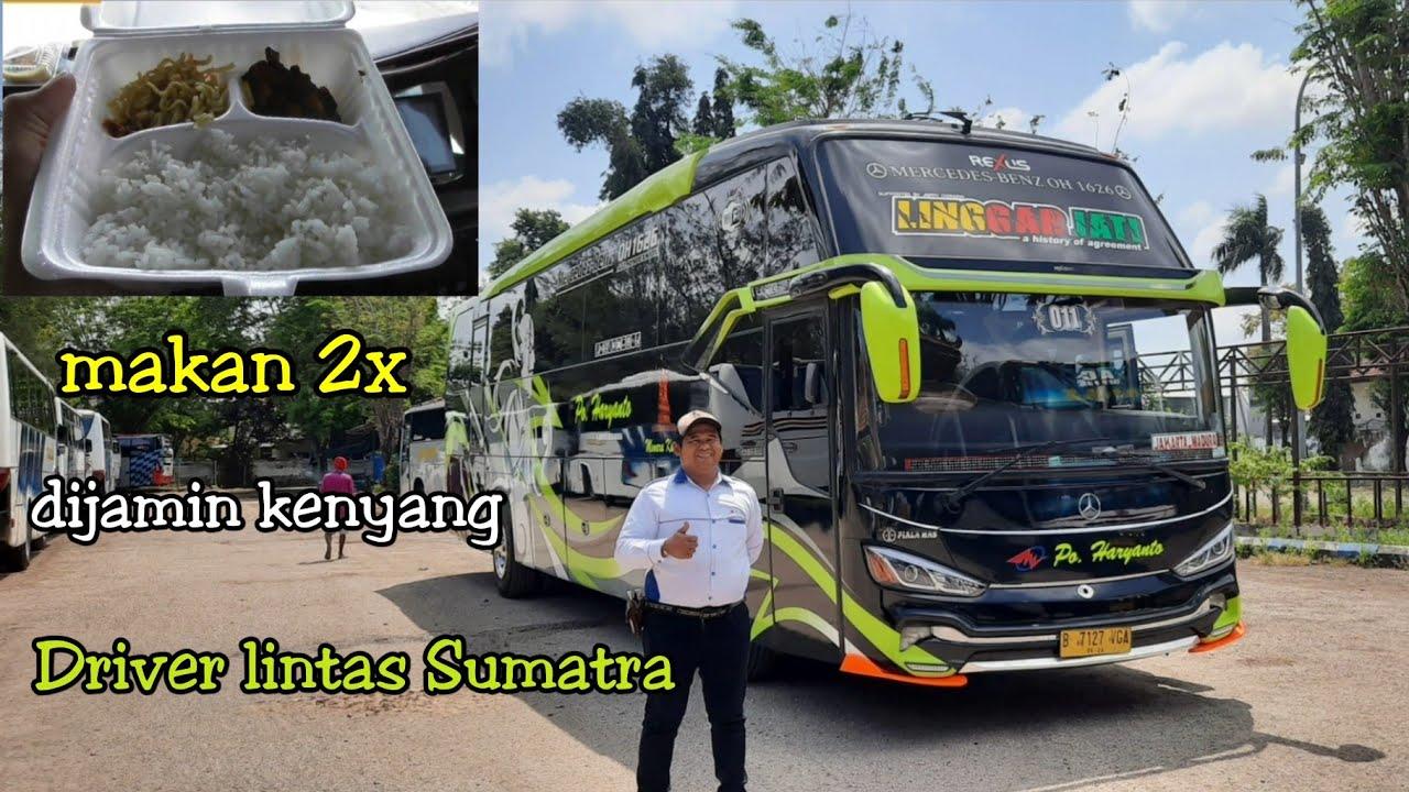 service makan 2×_line+armada baru Madura-Merak,trip Po.Haryanto 011 Linggarjati
