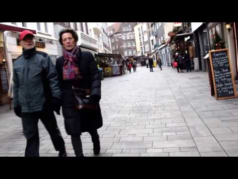 Walking through Düsseldorf