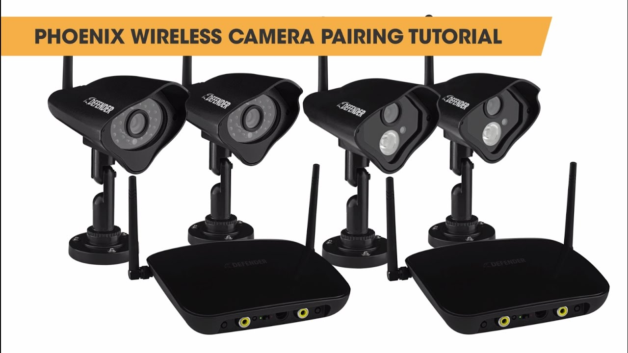 How to pair your Phoenix Wireless Security Cameras