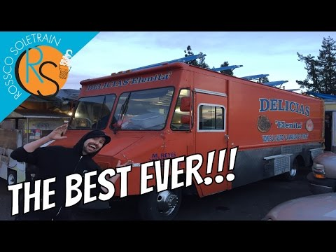 BEST TACOS EVER! Delicias Elenita Taco Truck Santa Rosa California