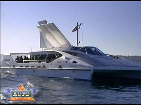 Solar Sailor - Solar Powered Ferries