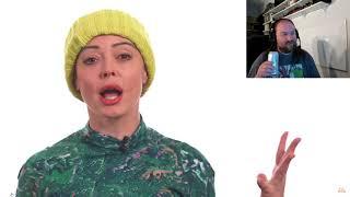 Rose McGowan's rambling drunk video