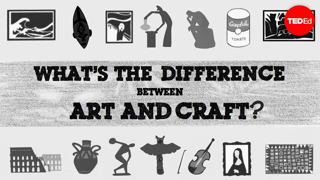 Is There A Difference Between Art And Craft?