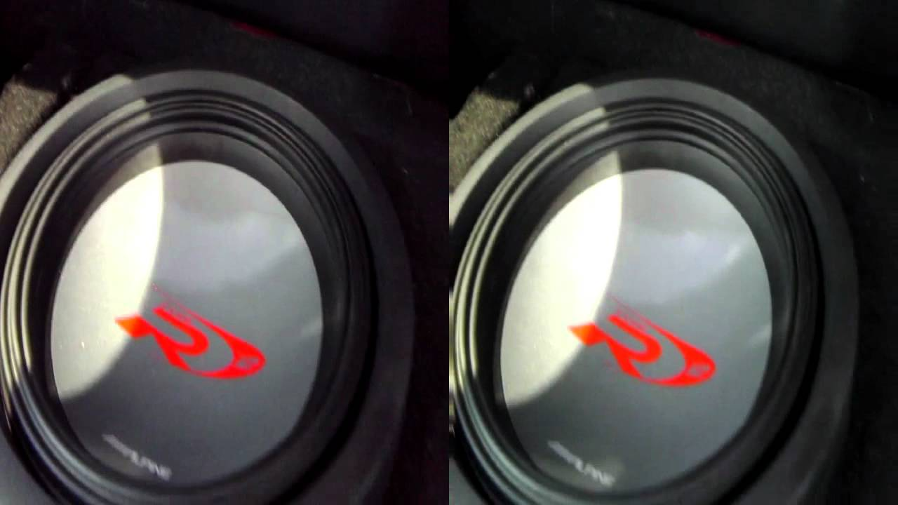 Alpine Type R Speakers Featuring 6x9 Quot S 6 5 Quot S And 12 Quot S