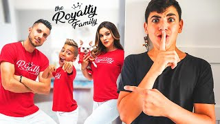 THE ROYALTY FAMILY BROKE INTO MY HOUSE! *CAUGHT ON CAMERA!*
