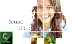 Square Photo effect   Photoshop tutorial