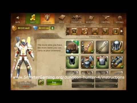 Dungeon Hunter 4 Hack - Unlimited Gems And Gold