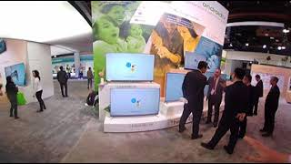 Haier's smart home booth at CES 2018 - 360 video