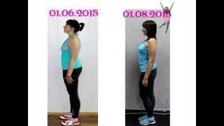 Похудение за 2 месяца. Результаты))