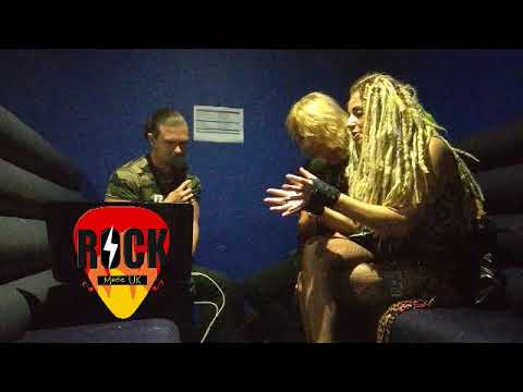 Baz n Viixen, Interview at HRH Sleazfest