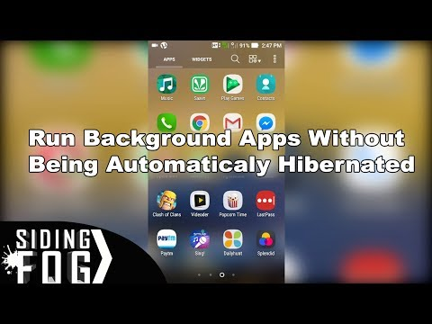 How To Run Apps In Background Without Automatic Hibernation   ASUS Zenfone