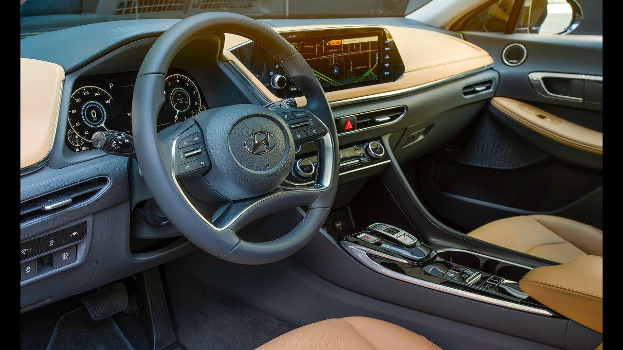 2020 Hyundai Sonata Interior Design Technology Youtube