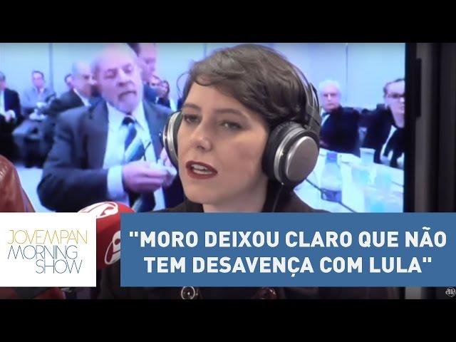 """Helen: """"Moro deixou claro que não tem desavença com Lula""""   Morning Show"""