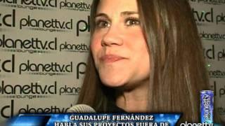 Planettv.cl / GUADALUPE FERNÁNDEZ HABLA DE SU VIDA FUERA DE LA TV