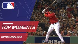 Top 10 Moments from October 5th, 2018