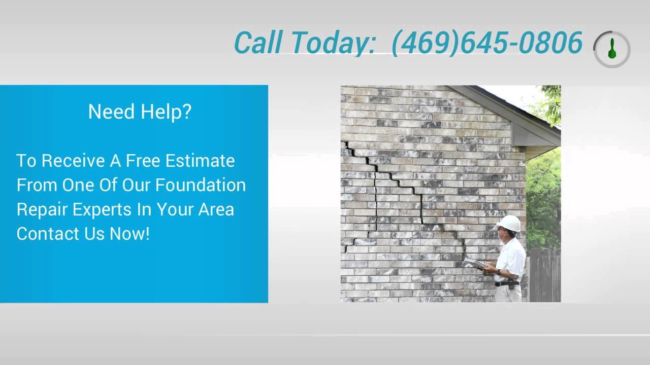 Foundation Repair Estimate Mckinney Tx Estimates