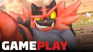 8 Minutes of Incineroar Gameplay - Super Smash Bros. Ultimate