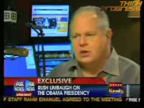 Limbaugh claims he's being told to 'bend over, grab the ankles' because Obama's 'father was black'
