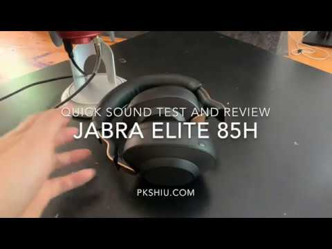 Jabra Elite 85h Wireless Active Noise Cancellation Headphones Review