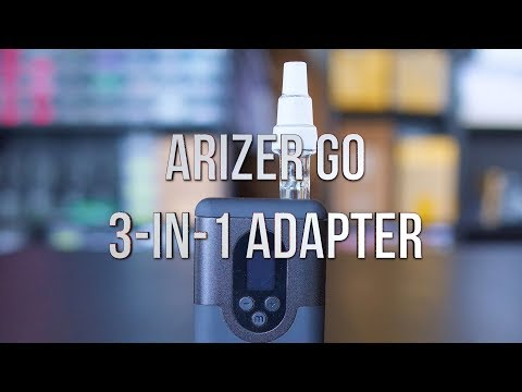 Arizer Go 3-In-1 Water Pipe Adapter – Product Demo | GWNVC's Vaporizer Reviews