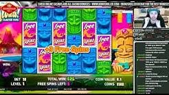 💰BONUS TIME!! Aloha Cluster Pays (NetEnt) - BonusRoller