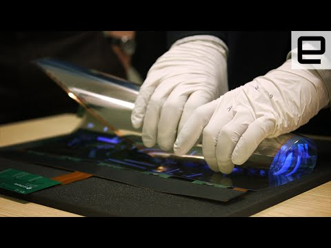 LG's folding display: First look at CES 2016
