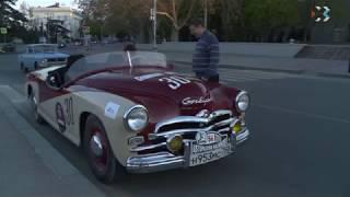 Из сочинского музея «Формулы-1» в Севастополь прибыл советский автокар «Победа-спорт»
