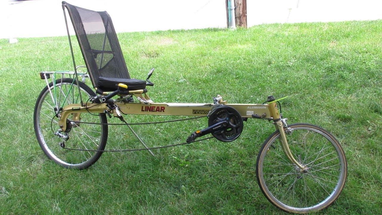 1992 Iowa Linear Recumbent Bike