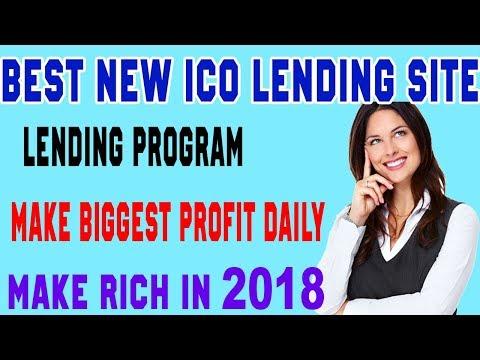New Best lending coin ICO platform biggest profit make you rich in 2018
