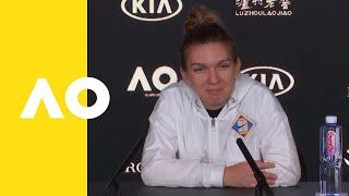 Simona Halep press conference (1R) | Australian Open 2019