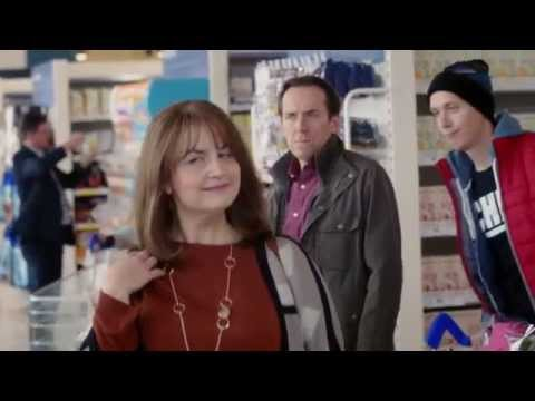 Tesco 'One in Front' Advert - Inner Thoughts - Ruth Jones, Ben Miller and Will Close