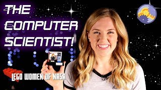 The Computer Scientist! | LEGO's Women of NASA! | Maddie Moate